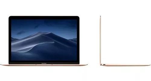 Macbook, intel® core m3, 8gb, 256gb, tela de 12, dourado