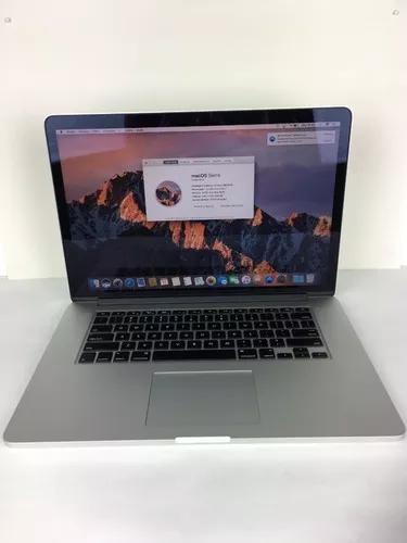 Macbook pro a1398 i7 2014 15 pol. 16gb 256ssd - 150 ciclos