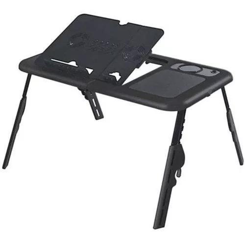 Mesa notebook dobrável com cooler base mesa cama portátil