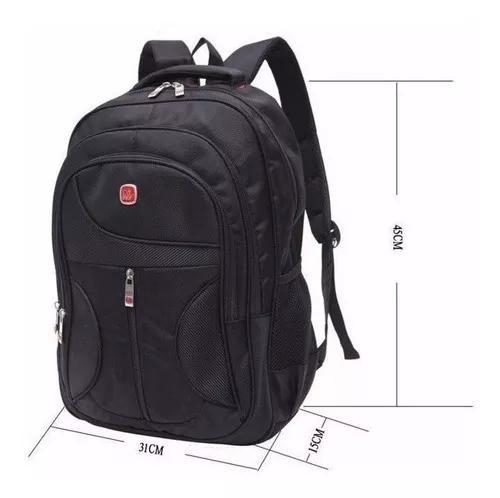 Mochila para notebook 15.6 16 17 polegadas bolsa mala