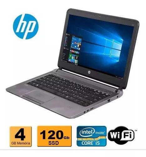 Notebook hp probook 430 i5 4ª 4gb ssd 120gb hdmi