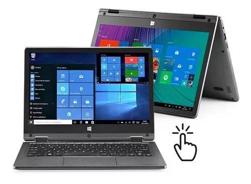 Notebook intel quad-core touch 11,6 pol 2gb 32gb windows 10