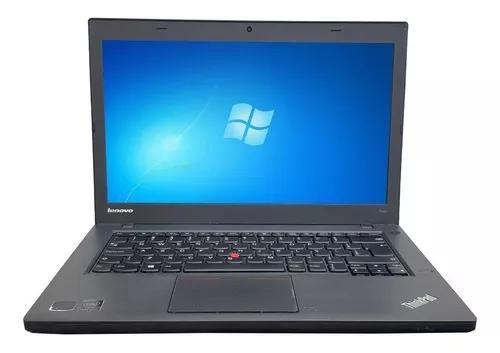 Notebook lenovo t440 intel core i5 8gb ssd 120gb wifi
