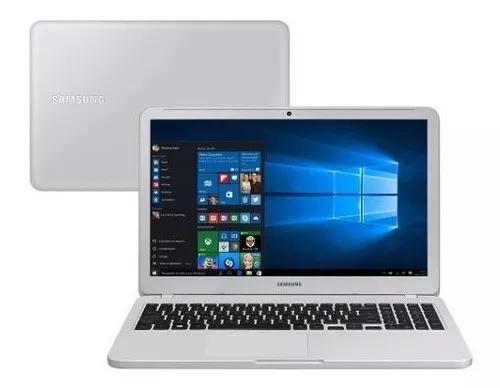 Notebook samsung e30 intel core i3 4gb 1tb 15.6 w10 branco