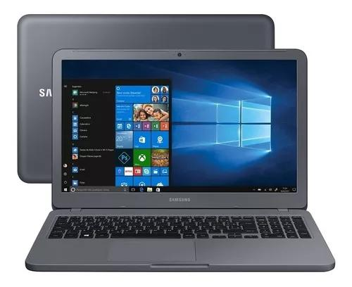 Notebook samsung x40 i5 1tb/8gb mx110 2gb titanium vitrine 2