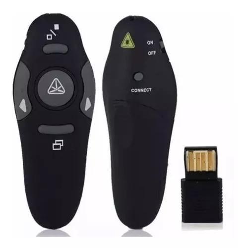 Passador de slides apresentador multimídia com laser