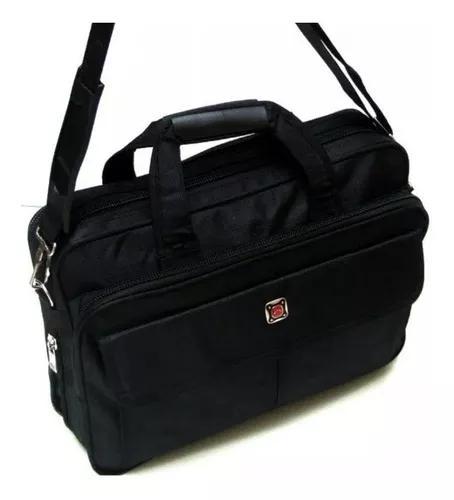 Pasta maleta executiva tiracolo notebook 14 nylon unissex 32
