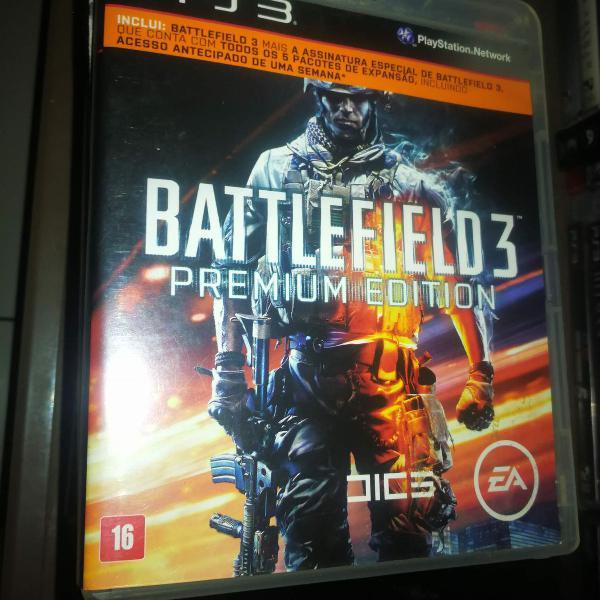 Battlefield 3 premium edition para ps3 em mídia física
