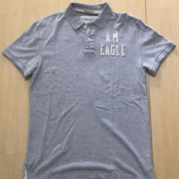 Camisa polo masculina american eagle