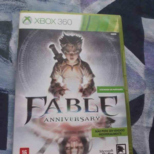 Fable anniversary - original para xbox 360 - seminovo