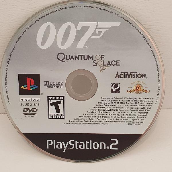 jogo PS2 007 !!! ORIGINAL !!!