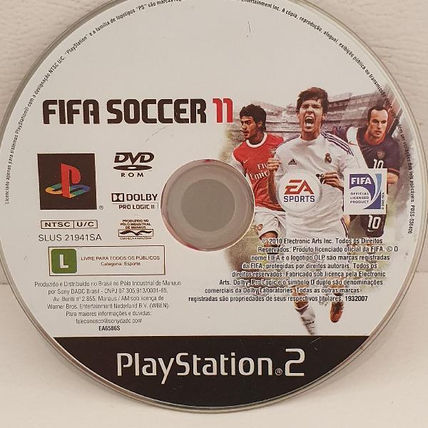 jogo PS2 FIFA 11 !!! ORIGINAL !!!