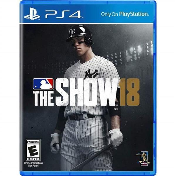 Jogo ps4 mbl the show 18 beisebol