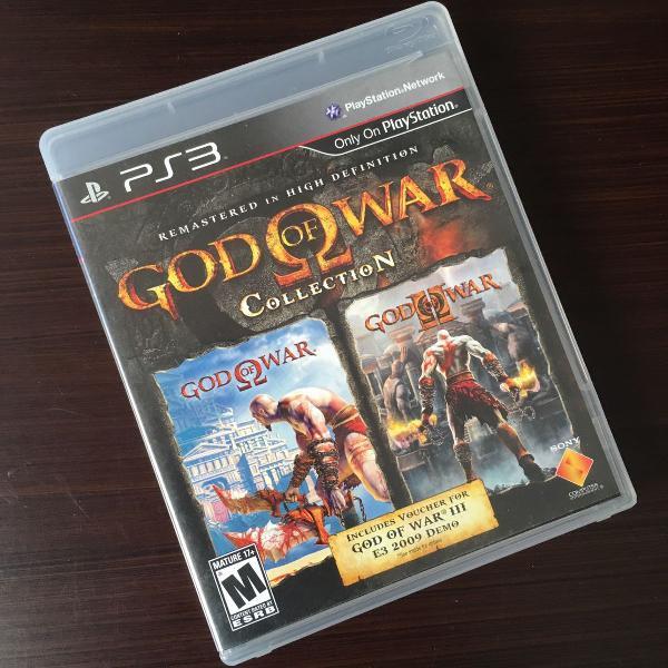 Jogos ps3 god of war