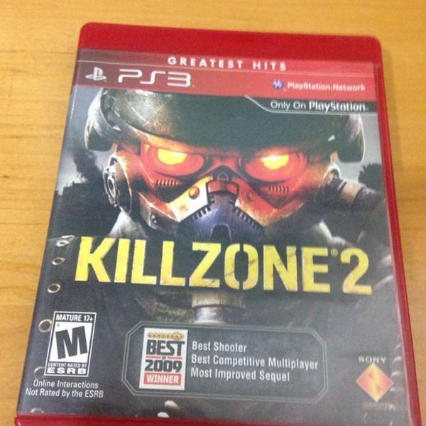 Killzone 2 semi novo mídia física ps3 playstation 3 r$88