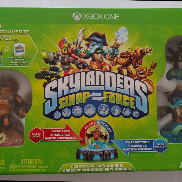 Skylanders swap force xbox one kit inicial
