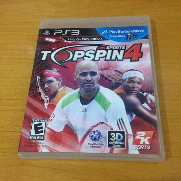 Top spin 4 semi novo mídia física ps3 playstation 3 r$79