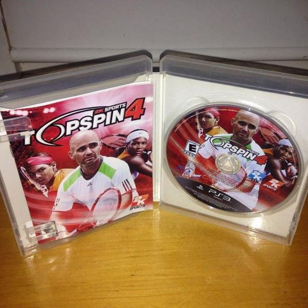 Top spin 4 semi novo mídia física ps3 playstation 3 r$80