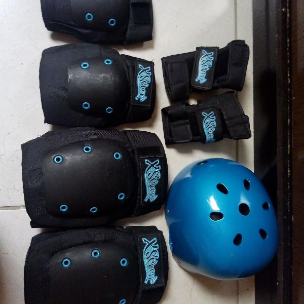 Kit de proteção x seven