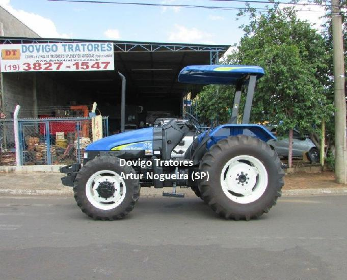 New Holland TL75E 4X4 Ano 2008,motor mwm !!
