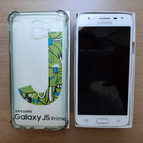 Samsung galaxy j5 prime 32g 4g dual chip dourado / seminovo