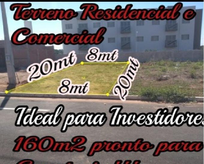 Terreno a venda em Guaraci SP. Comercial e residencial