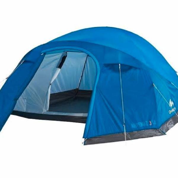 Barraca de camping 3 pessoas quechua