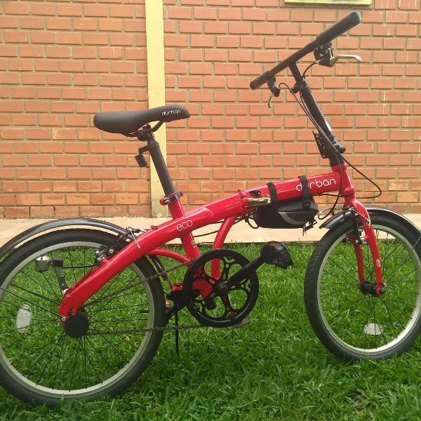 Bicicleta dobravel eco - durban