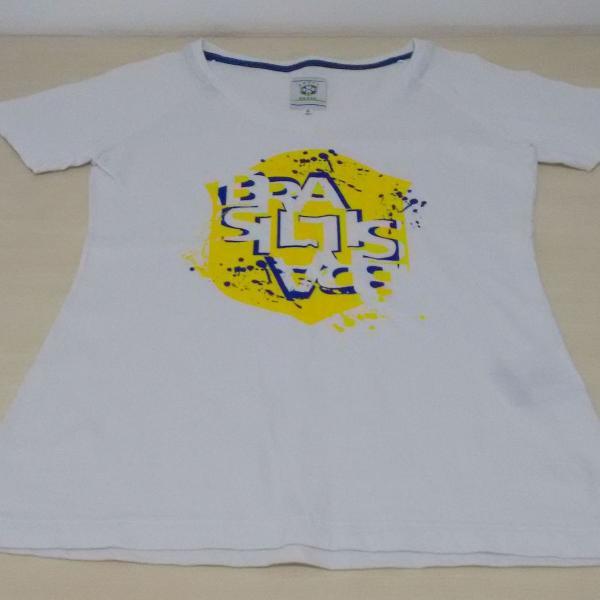 Camiseta cbf brasil oficial p