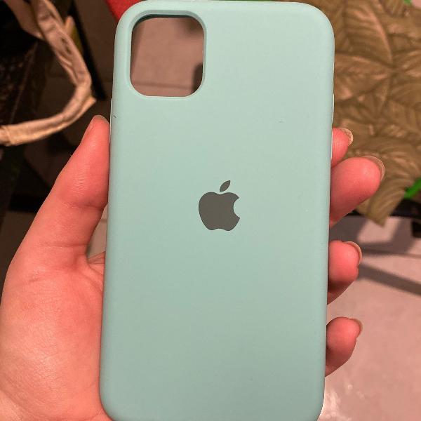 Capinha iphone 11 azul