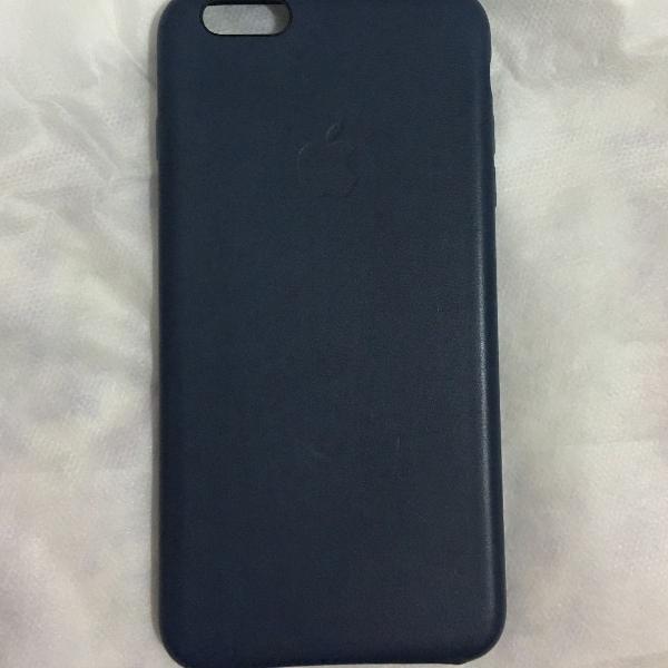 Case de couro apple iphone 6/6s plus
