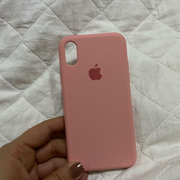 Case de silicone iphone x