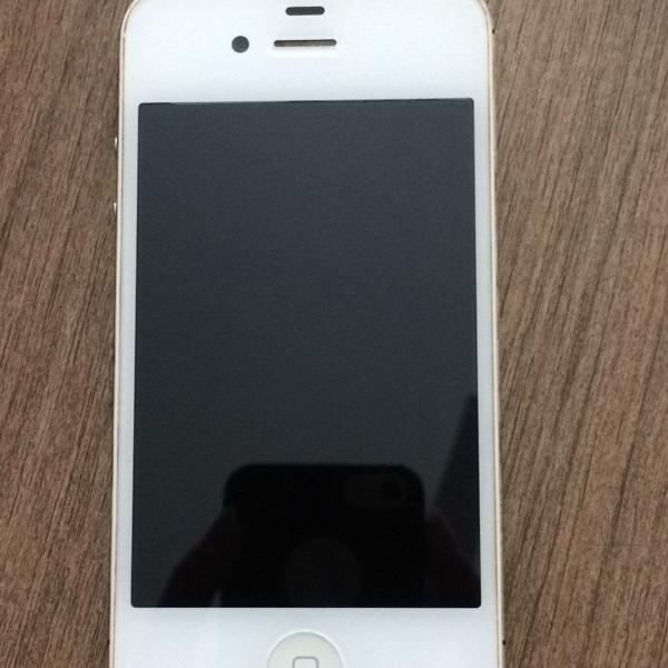 Iphone 4s branco com 16gb