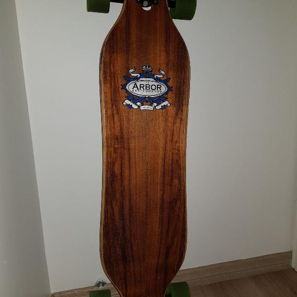Longboard arbor shape de bamboo