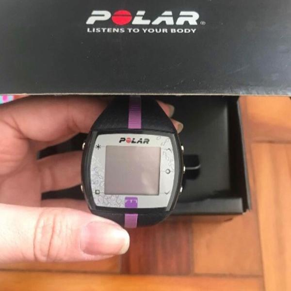 Monitor cardíaco polar ft7f - nunca usado!