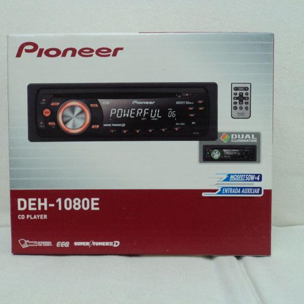 rádio automotivo pioneer deh-1080e