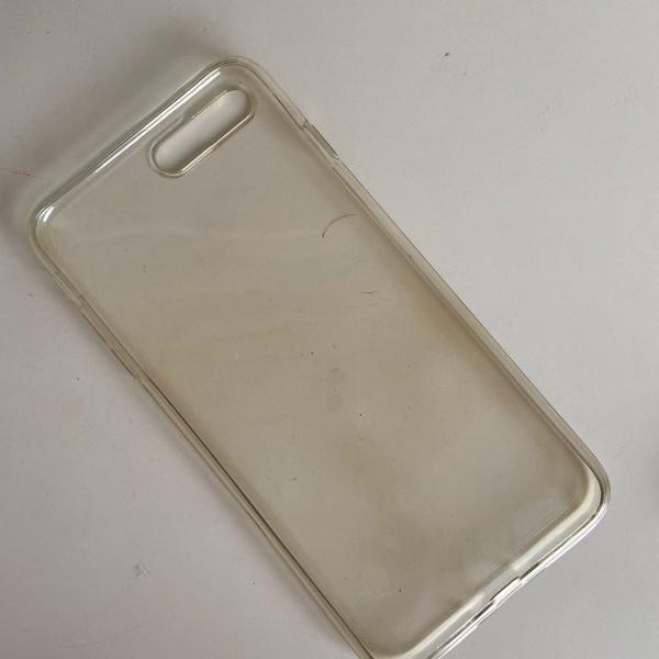 Transparente para capa celular apple 8s
