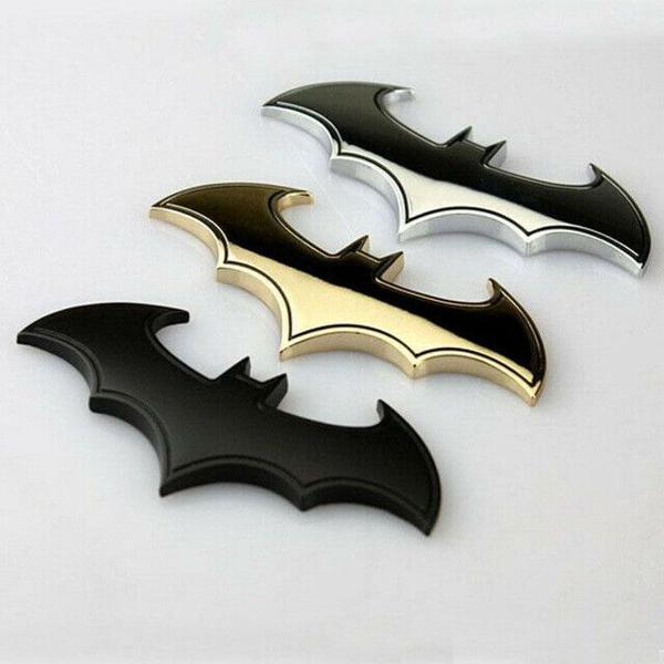 voltar #1041640893 adesivo emblema tuning batman 3d metal