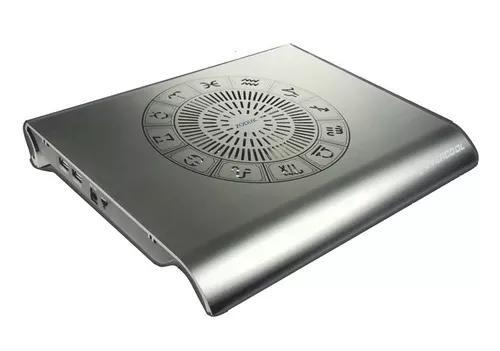 Base refrigerada p/ notebook zodiac 2 aluminio gamer 14 pol.