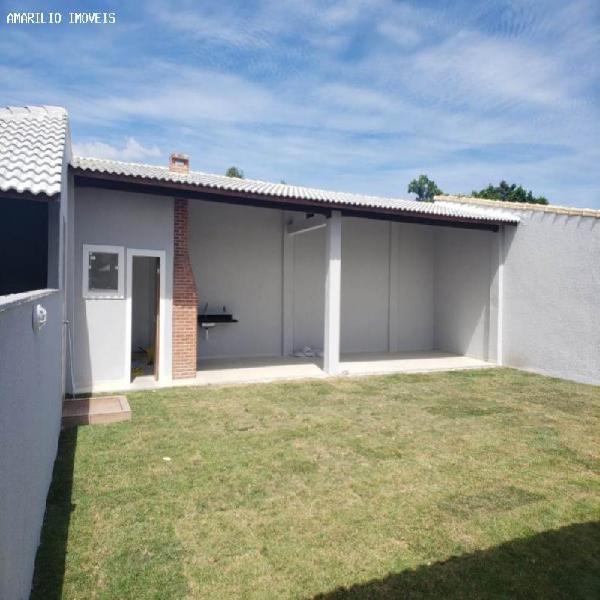 Casa 109m2 3suite 4banh. 2gar. Caxito Marica ama1812
