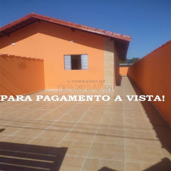 Casa nova a venda a vista em itanhaém.