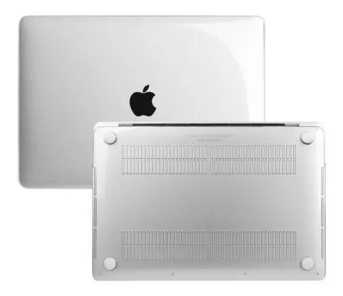 Case capa para macbook pro 12' transparente mac apple