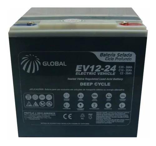 Kit 2 baterias ev12-24 cadeira de rodas e4 ulx ortobras