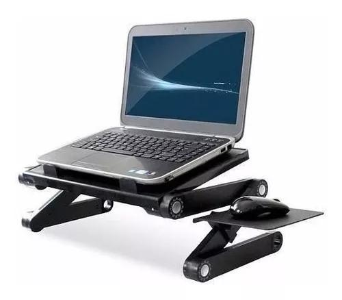 Mesa para notebook dobravel multifuncional com cooler