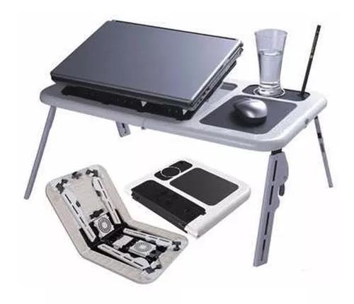 Mesinha notebook mesa suporte portátil dobrável cama sofa