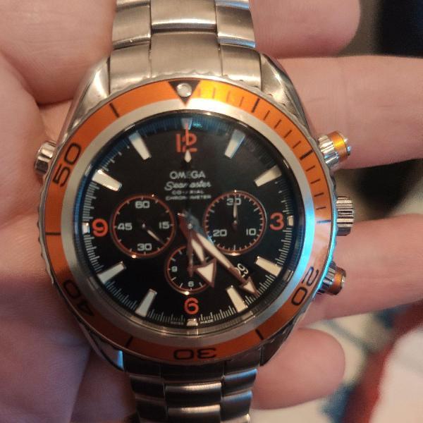 Relógio ômega seamaster planet ocean 600m