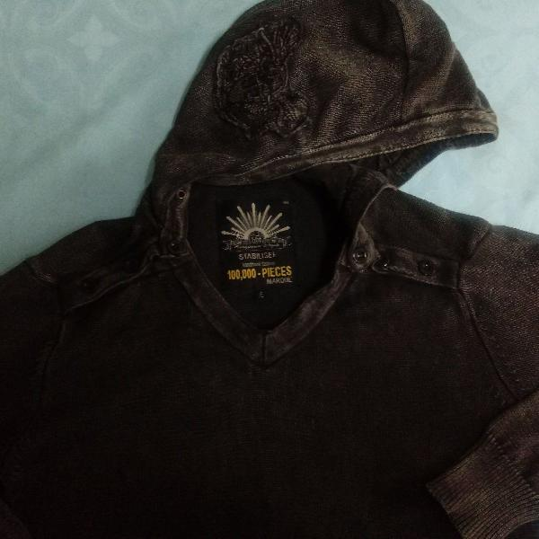 Blusa masculina/importada com capuz