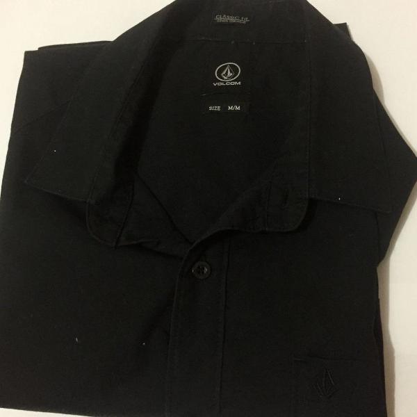 Camisa social black volcom m