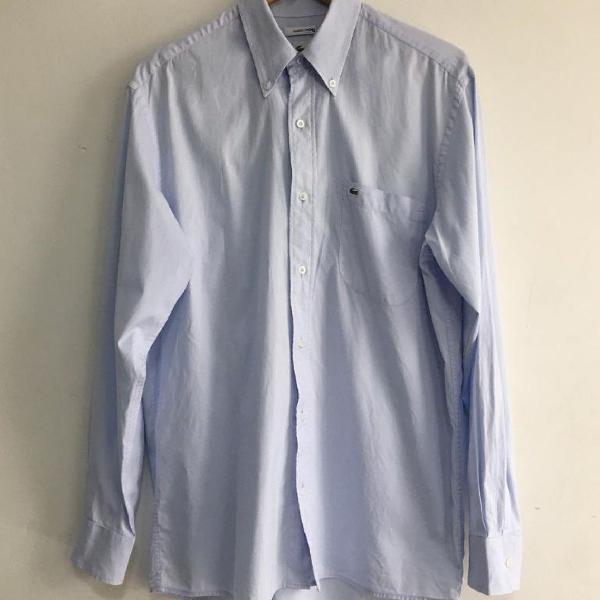 Camisa social masculina lacoste