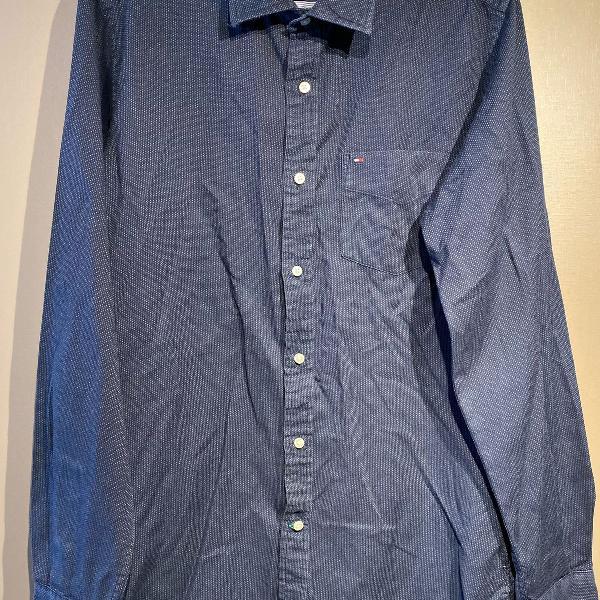 Camisa social tommy hilfiger p